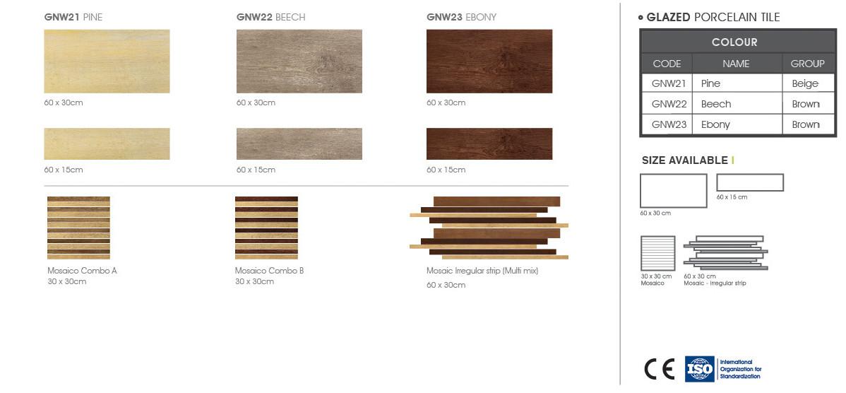 Gạch granite Natural Wood