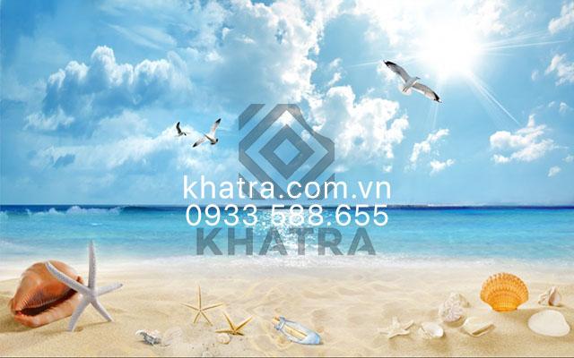 gạch 3d bãi biển