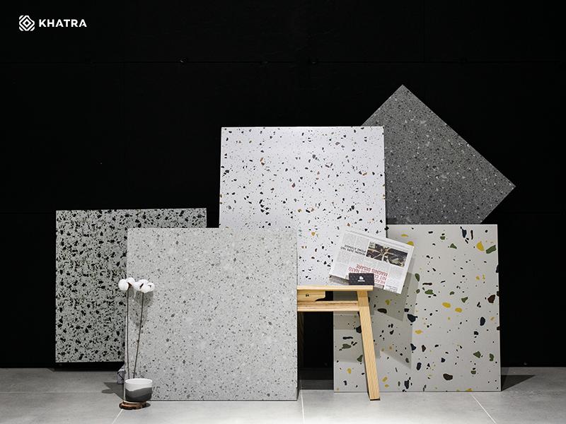 Bộ sưu tập gạch Terrazzo 600x600