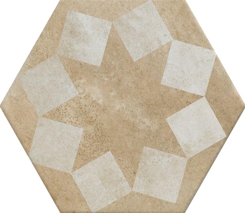 Gạch N23113 lục giác 200x230mm