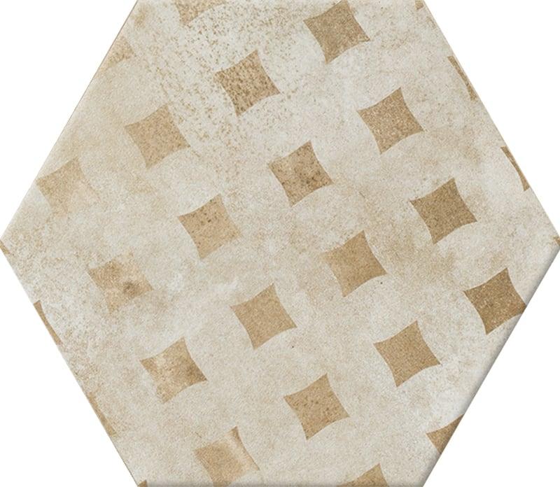 Gạch lục giác N23113 vàng