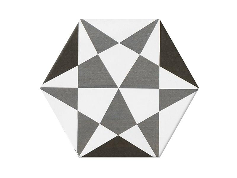 Gạch lục giác bông N23401 200x230
