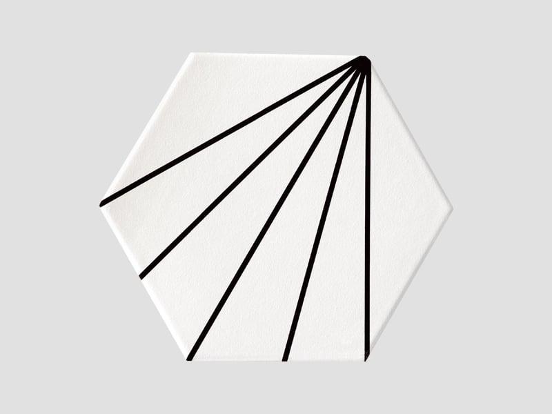 Mẫu gạch lục giác 3D038