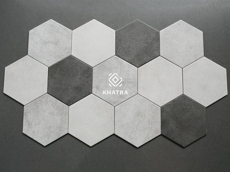Bộ gạch lục giác Cement