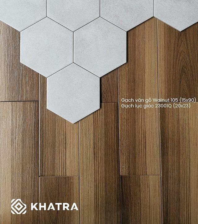 Gạch giả gỗ 15x90