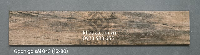 Gạch gỗ sồi nâu 043