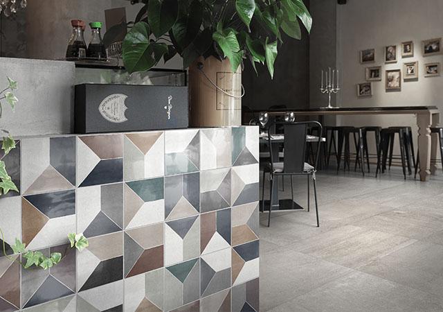Gạch quán cà phê