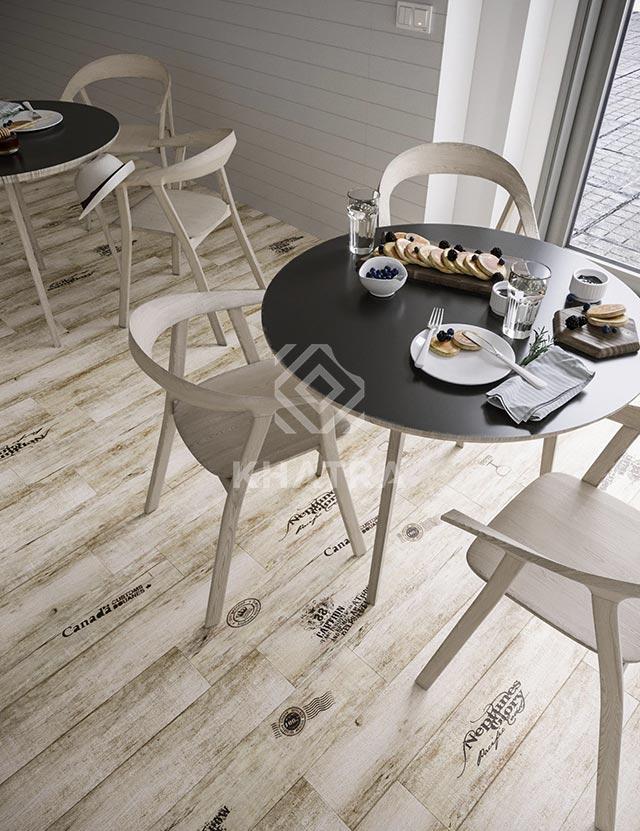 Phối cảnh bộ gạch gỗ 041H