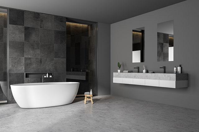 Sử dụng nội thất phòng tắm toát lên được phong cách cá nhân gia chủ