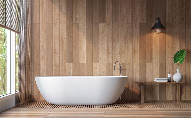 Phòng tắm là nơi con người thư giãn, nghỉ ngơi