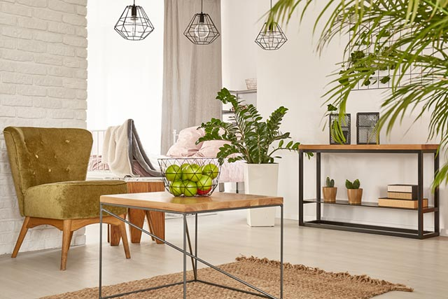 Đồ nội thất đơn giản gọn gàng
