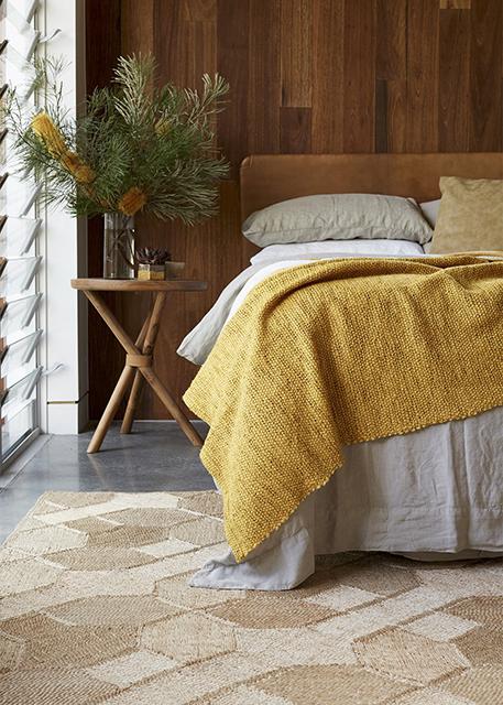 linen-bed