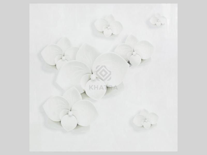 Gạch lát nền kim cương hoa sứ