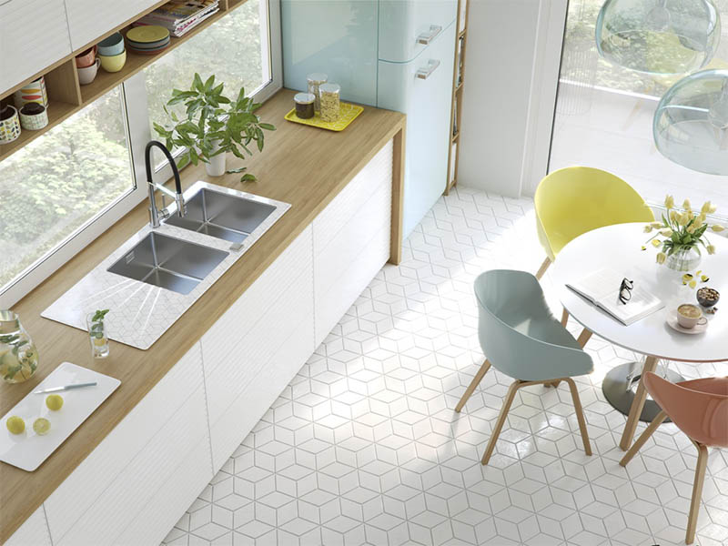 hexagon-tile-floor-kitchen