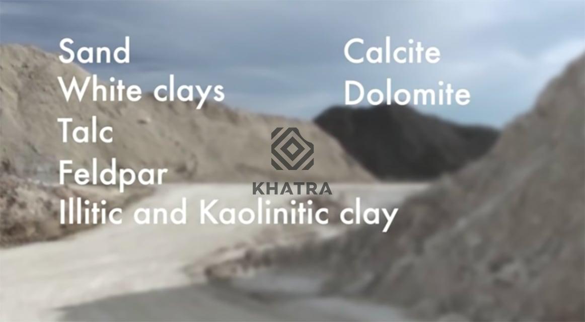 Nguyên vật liệu sản xuất gạch Granite