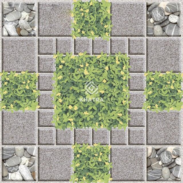 Gạch cỏ lát sân KHA-3782
