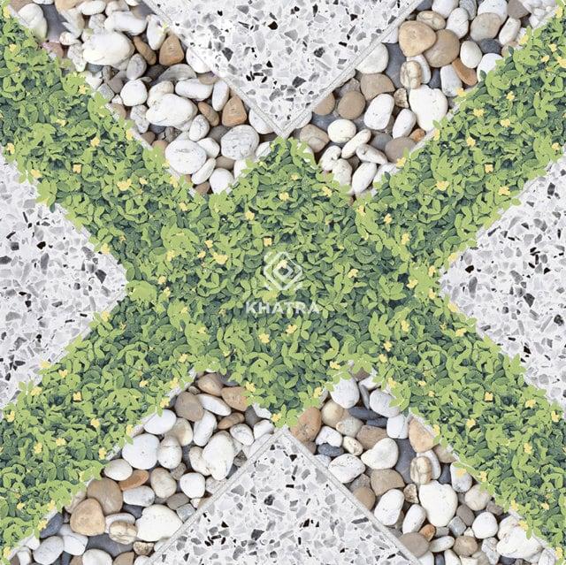 Gạch giả cỏ lát sân KHA-3785