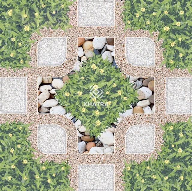 Gạch cỏ lát sân vườn KHA-3788