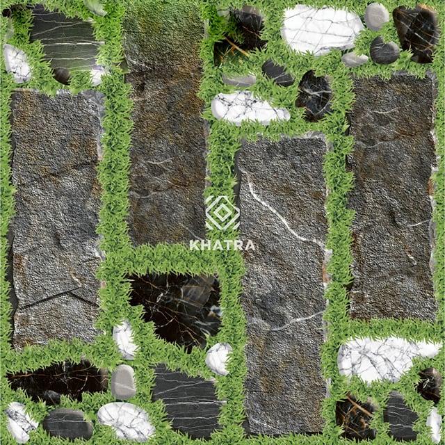 Gạch cỏ 50x50 lát sân - KHA-3789