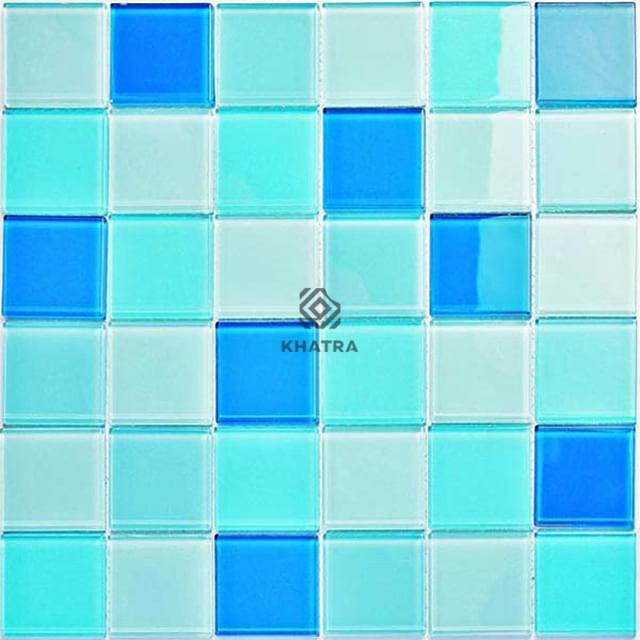 Gạch Mosaic KHA-BLH1957C lát hồ bơi