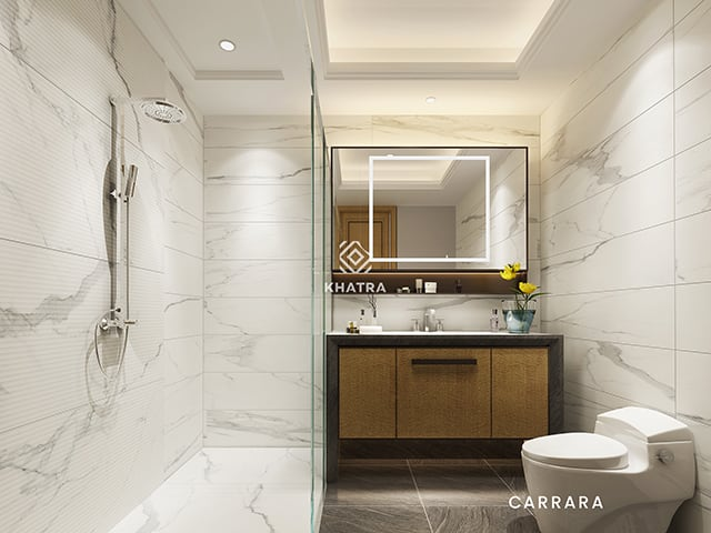 Gạch Big Slab Carrara GIANIA