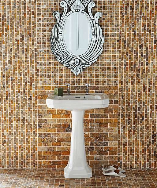 Gạch Mosaic ốp phòng tắm Sahara