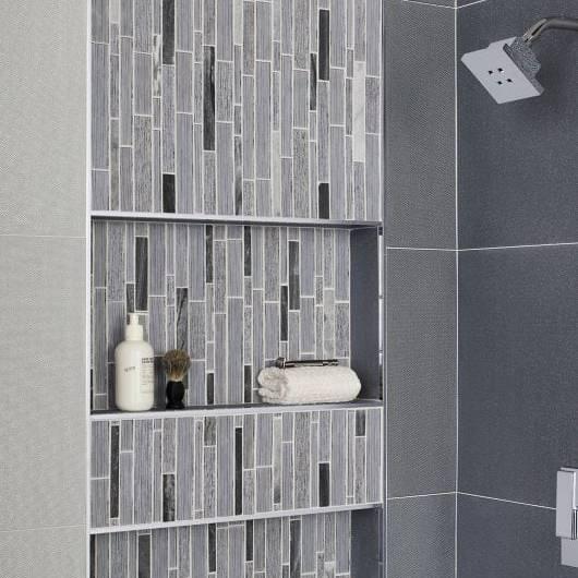 Gạch mosaic thuỷ tinh ốp phòng tắm