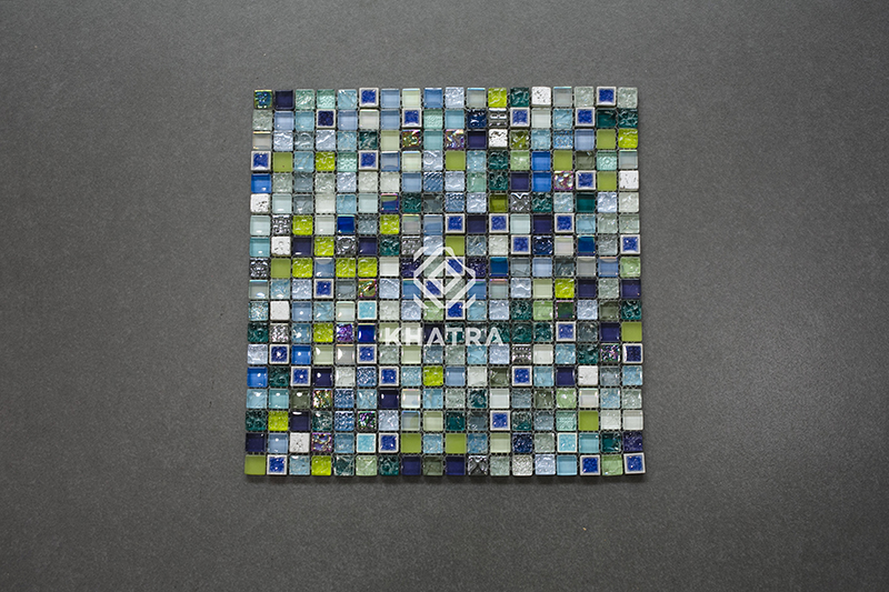 Mẫu gạch Khatra Mosaic đẹp