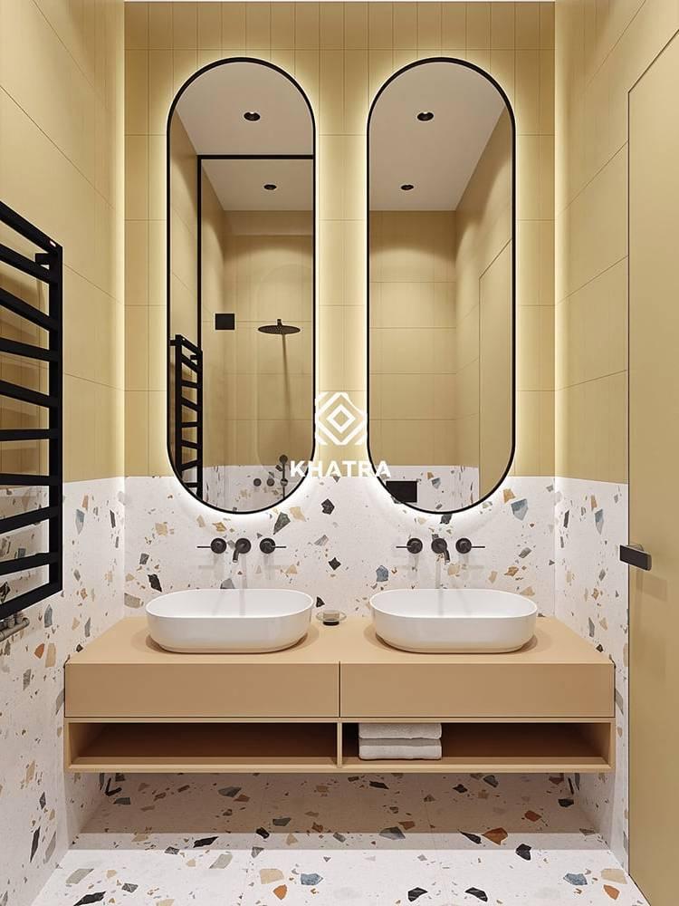 Gạch Terrazzo KHA-126052 ốp nhà tắm