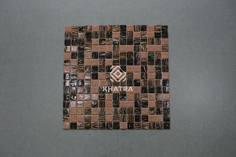 Gạch Mosaic Brown SPA-0622
