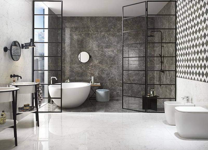 Gạch lát nền nhà tắm 30x30 cm