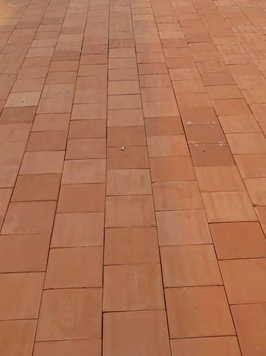 Gạch Tuynel Đồng Nai lát sân