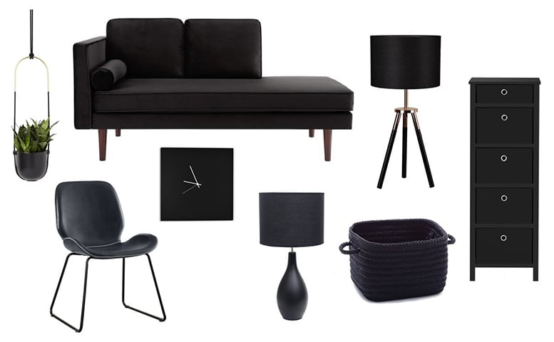 Home Decor Black 2020