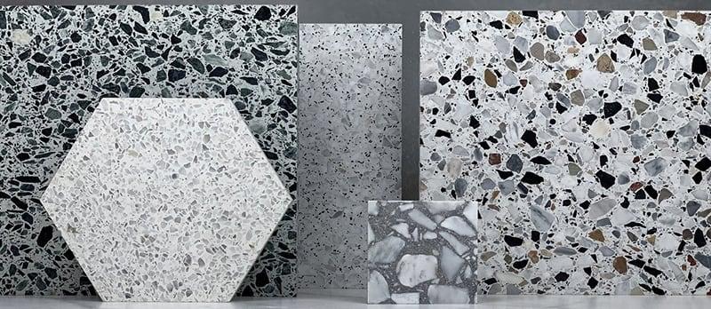 Các mẫu gạch chịu lực Terrazzo lát nền