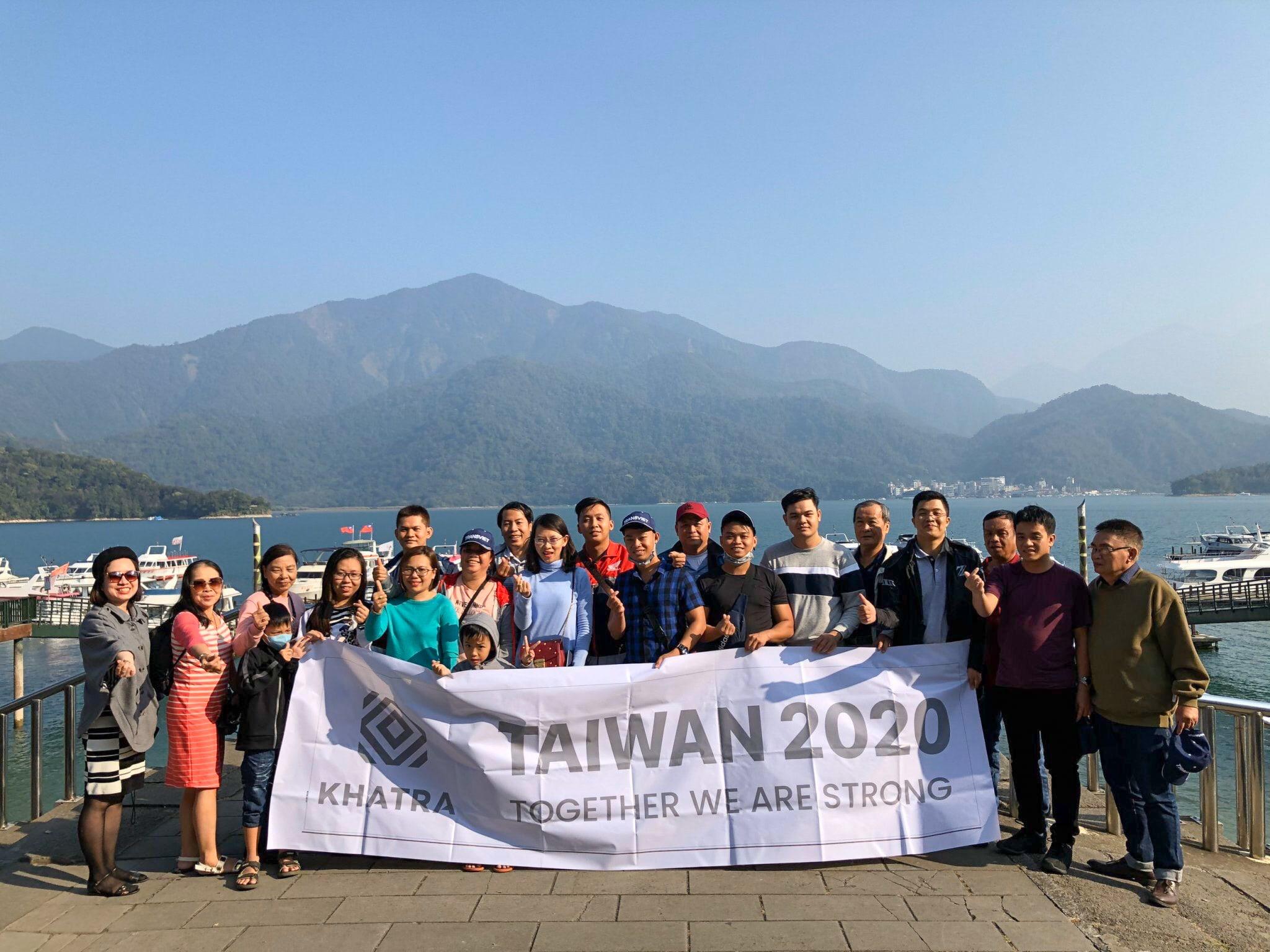Taiwan teambuilding 2020