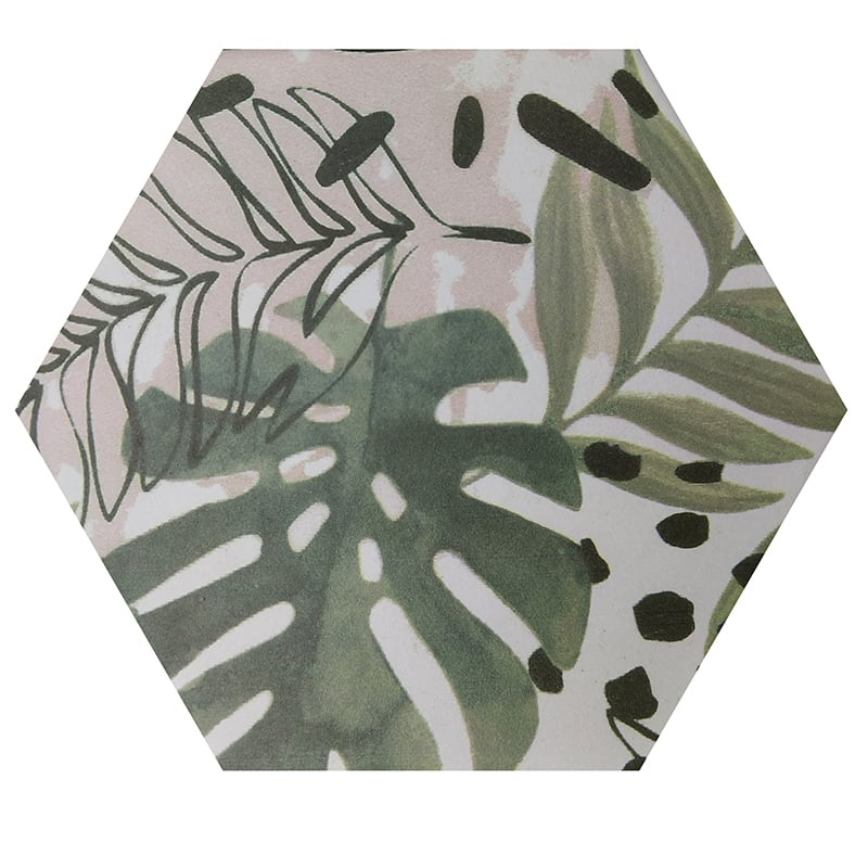 Gạch lục giác 3D050 hoạ tiết
