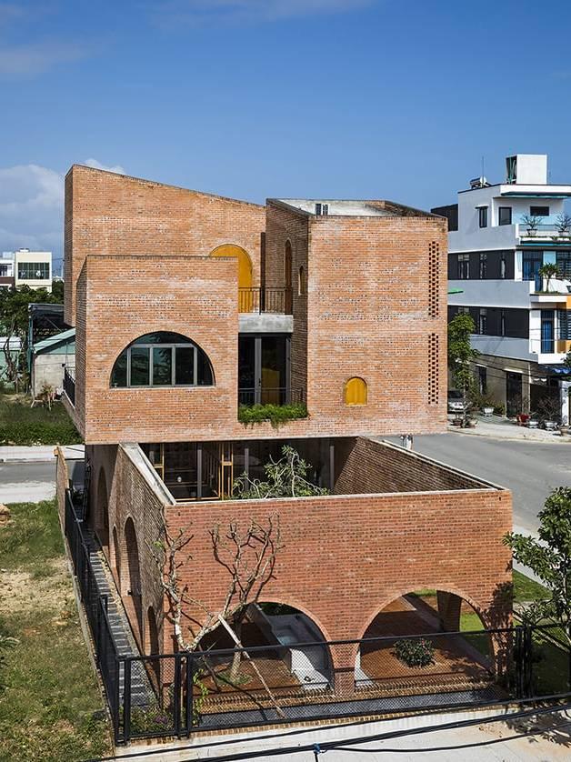 Nhà ở Tropical Space tại Việt Nam
