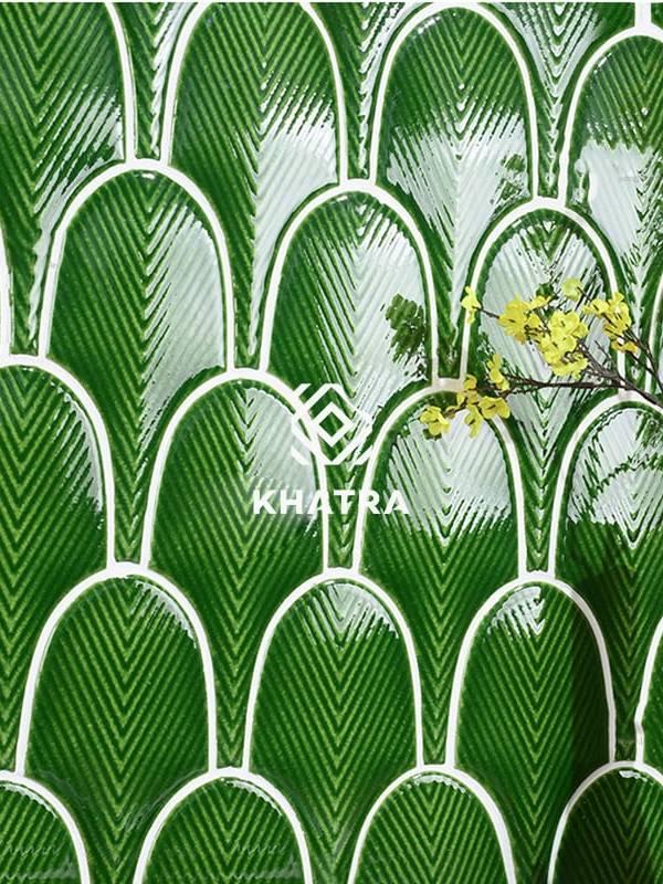 Gạch Dark Green ốp tường