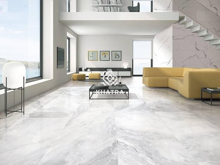 Gạch lát nền Big Slab Marble White