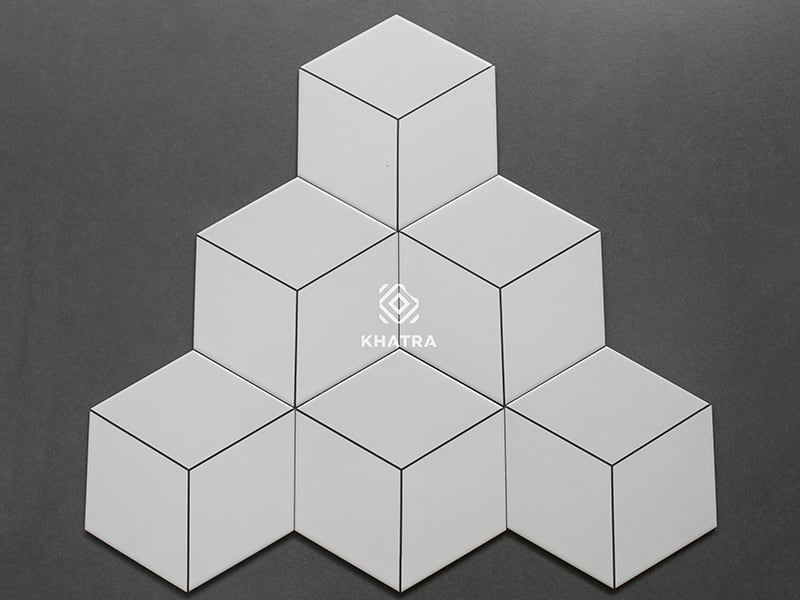 Gạch lục giác trang trí 3D035