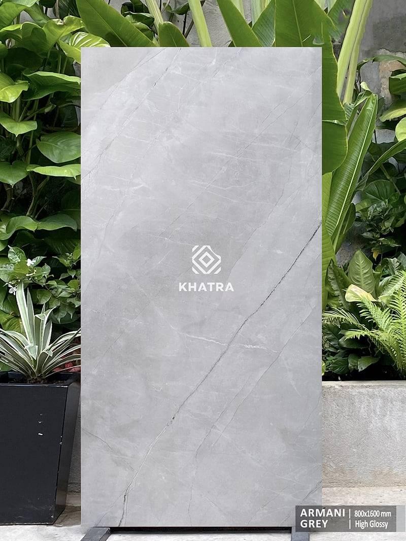 Gạch lát nền khổ lớn Armani Grey