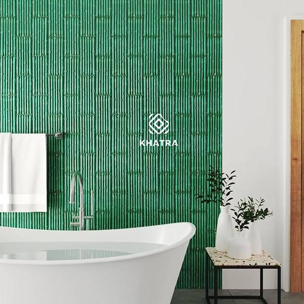 Gạch Bamboo ốp tường nhà tắm