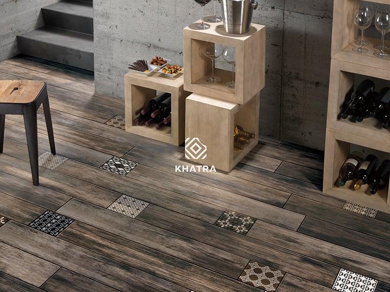 Gạch gỗ Paris Street KHA-MP2012023 (Order)