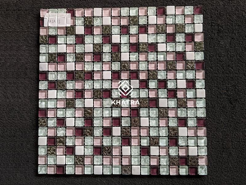Vỉ mosaic hạt lựu KKLA13