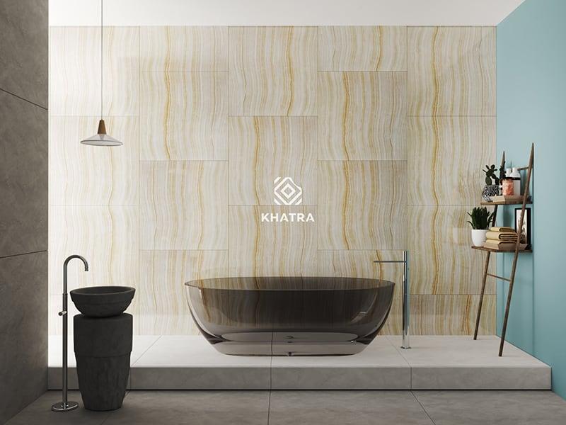 Gạch KYS88007 ốp tường phối Granite lát nền