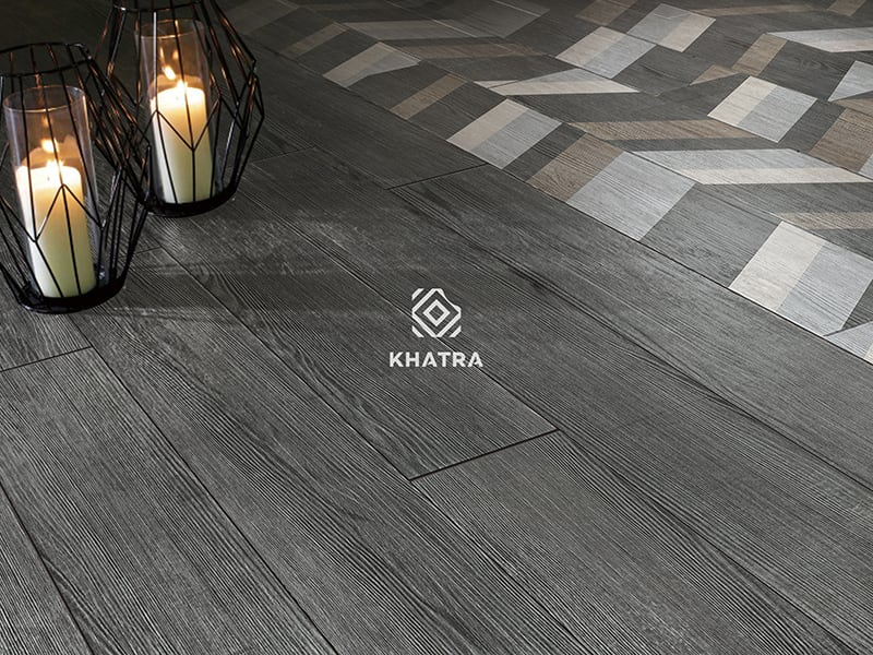 Gạch vân gỗ xám KHA-MP159009