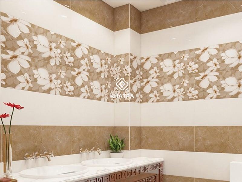 Bộ gạch men ốp tường đẹp