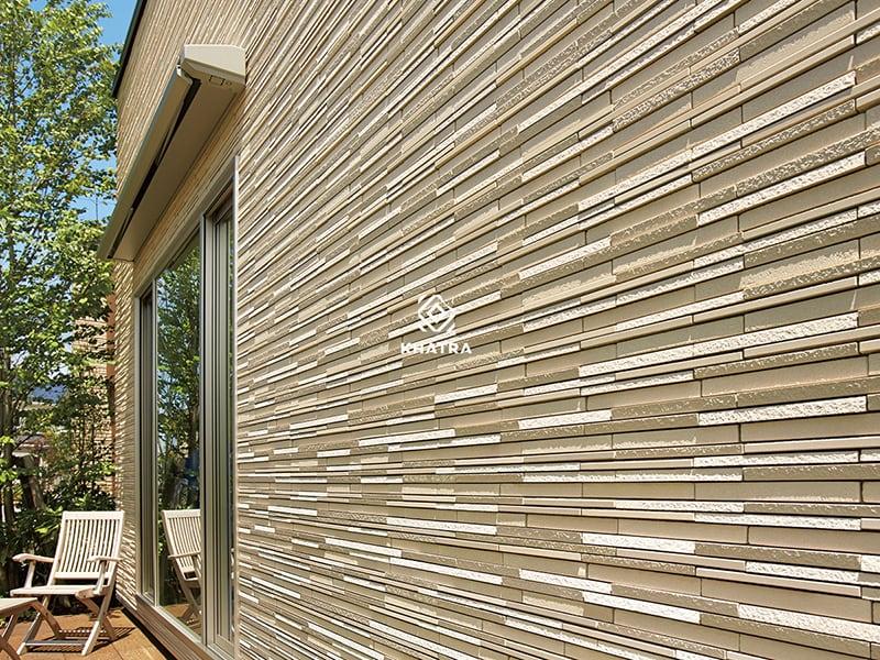 Gạch Inax Luminos ốp tường mặt tiền
