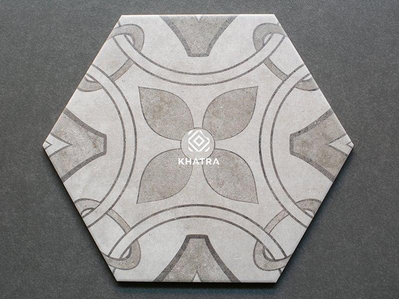 Mẫu gạch lục giác 26009H-1