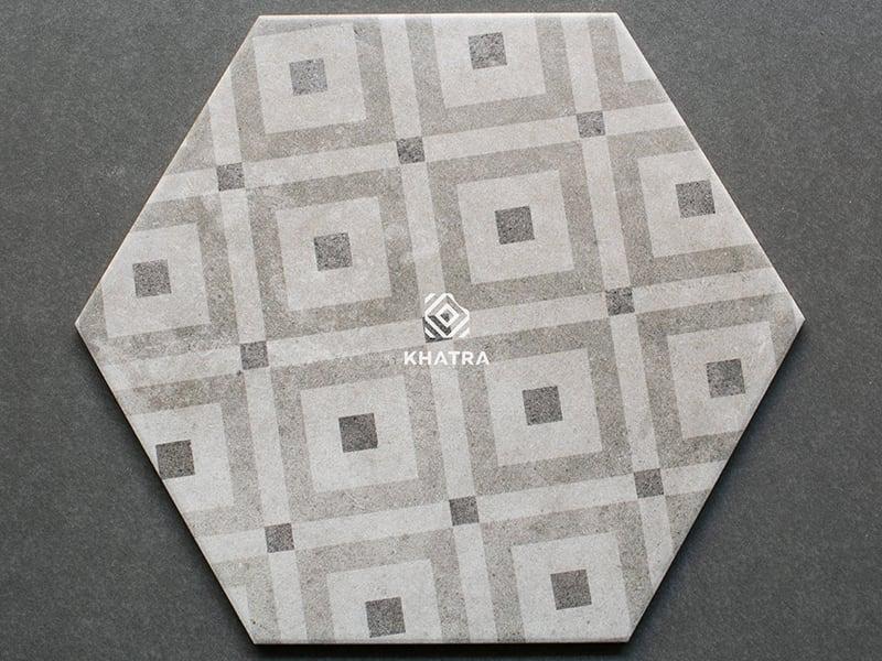 Mẫu gạch lục giác 26009H-2
